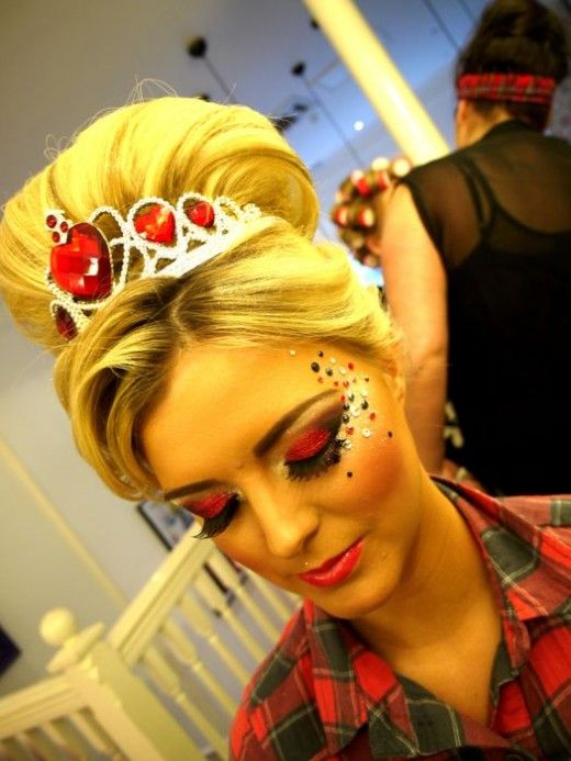 red queen makeup | ... waydoityourself queen hearts cached similarthe red queen tagged makeup