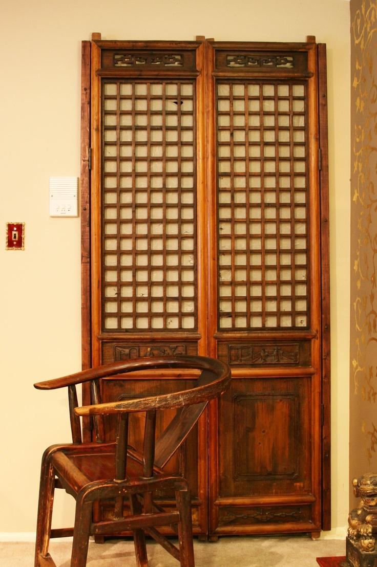 chinese closet doors  photo by apartmentf15  my home decor  Closet doors Wooden closet