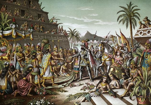 Collapse of Aztec society linked to catastrophic salmonella outbreak : Nature News & Comment