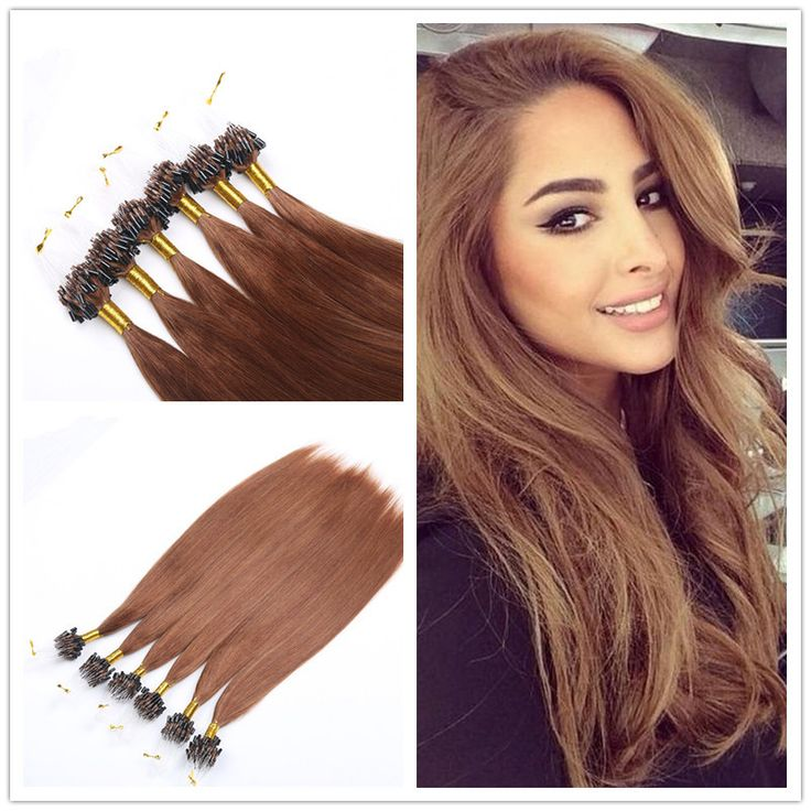 Cheap Micro Loop Ring Hair Extensions, Buy Directly from China  Suppliers:Pre-Bonded Hair Extension U Tip Keratin Glue Nail Tip Hair  Extension Silky Straight
