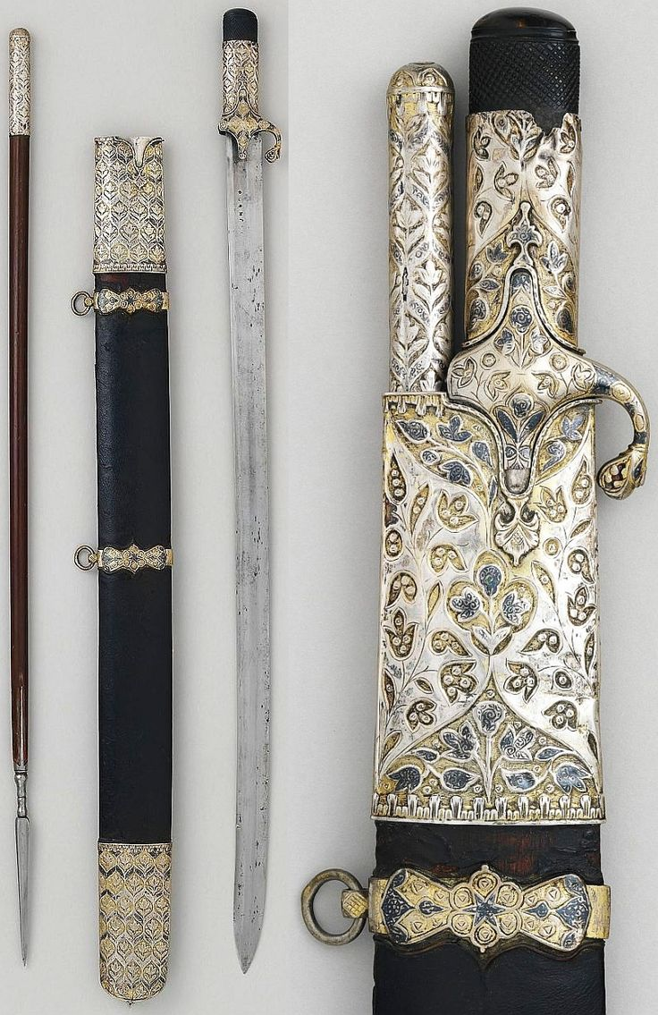 Saber and Jarid (17th Century CE Ottoman Empire) (Met Museum)