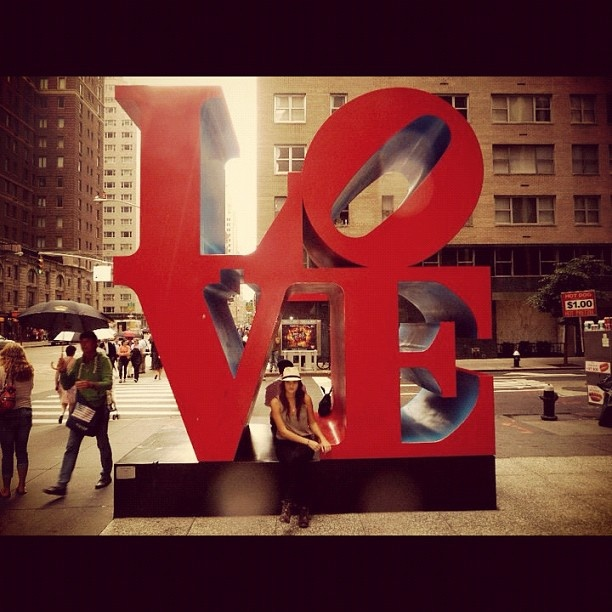 LOVE in NYC .... Photo by stephseb22 • Instagram