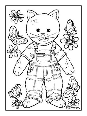 coloring pages dolly on potty - photo#25