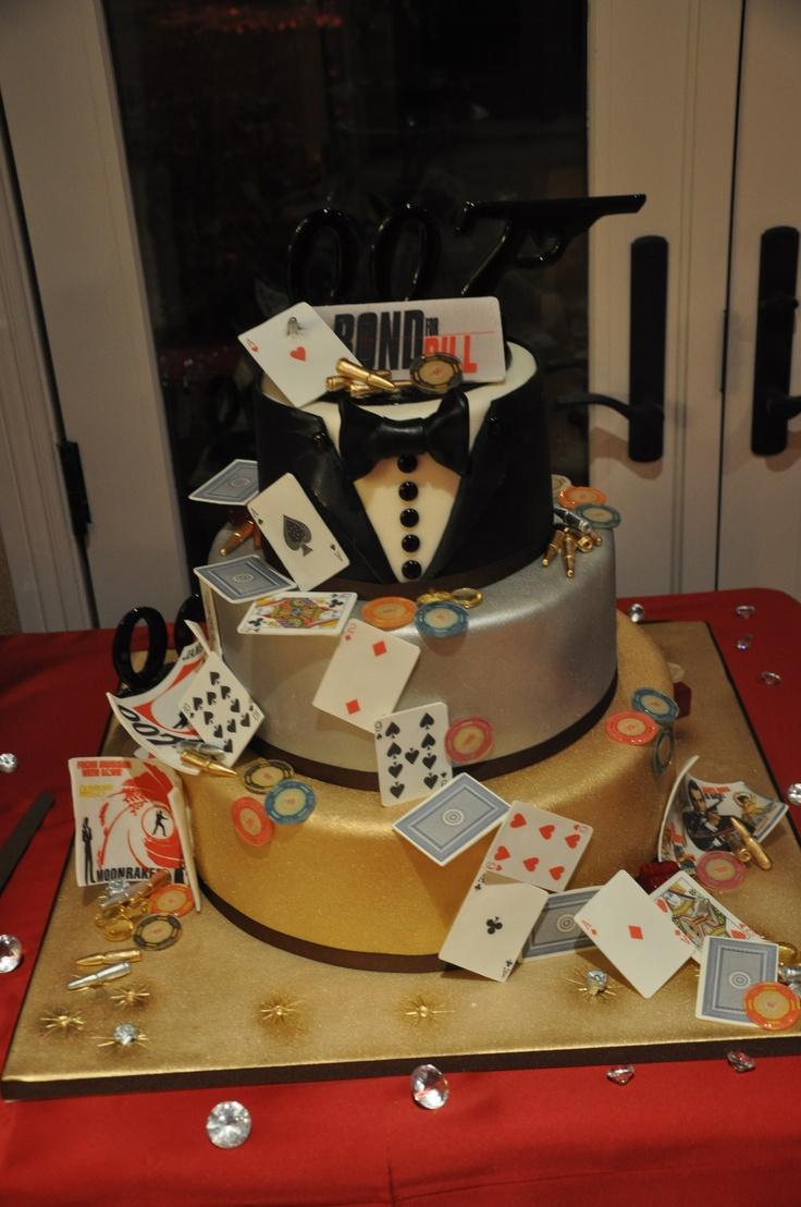 James Bond Cakes by Art Of Cooking Las Vegas
