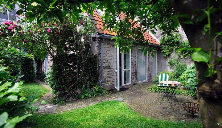 bed & breakfast achter de sterren, eigen huisje met tuin - midden in Den Bosch