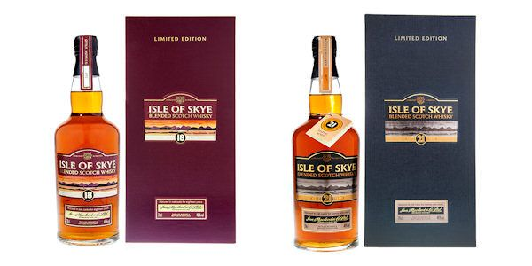 Isle of Skye Whisky unveils exclusive new 18 and 21yo whiskies - 11th January, 2015