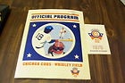 1976 CHICAGO CUBS OFFICIAL PROGRAM vs MONTREAL EXPOS Plus Cubs Baseball Schedule - 1976, Baseball, Chicago, Cubs, EXPOS, MONTREAL, Official, Plus, PROGRAM, SCHEDULE
