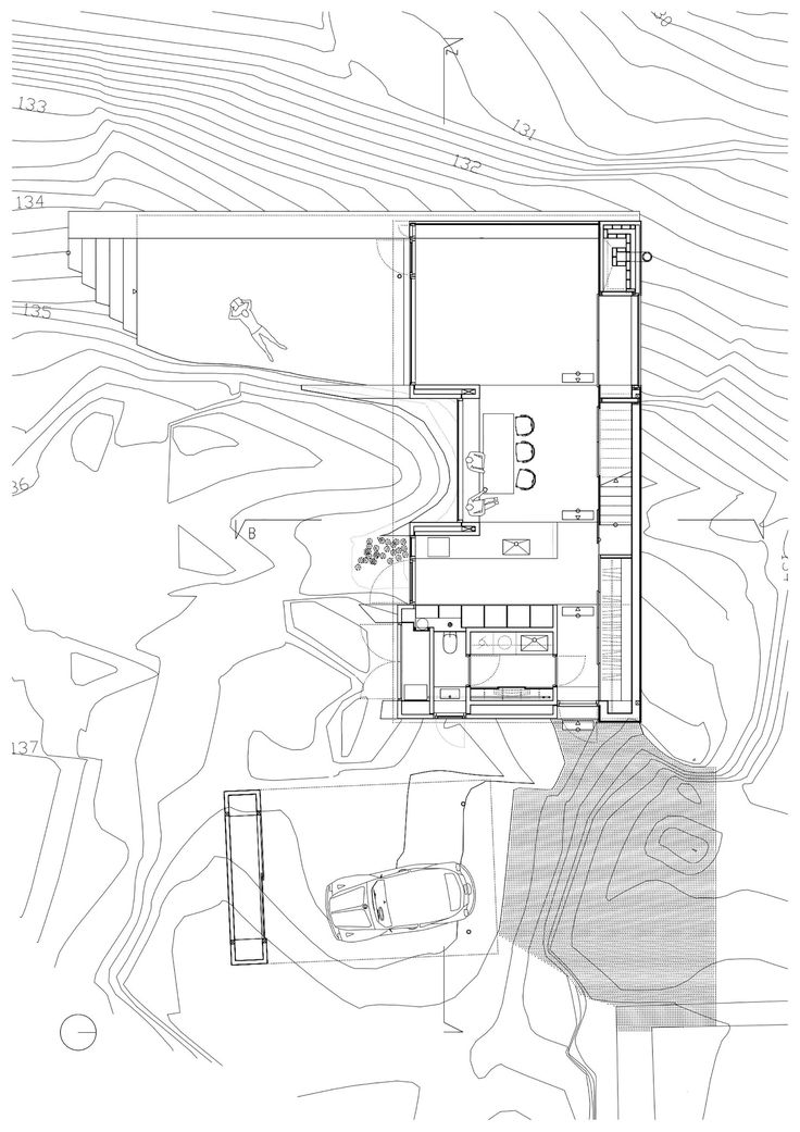 Image 12 of 17 from gallery of House Engan / Knut Hjeltnes. Ground Floor Plan