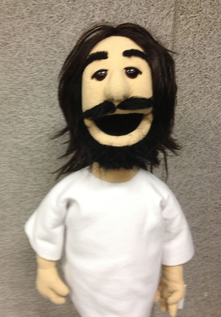 Jesus puppet by PJ's Puppets   -- custom professional puppets