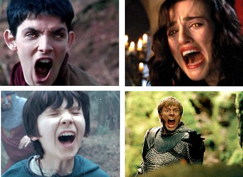 Welcome to the Merlin fandom. We hope you like screaming because we do a lot of it!