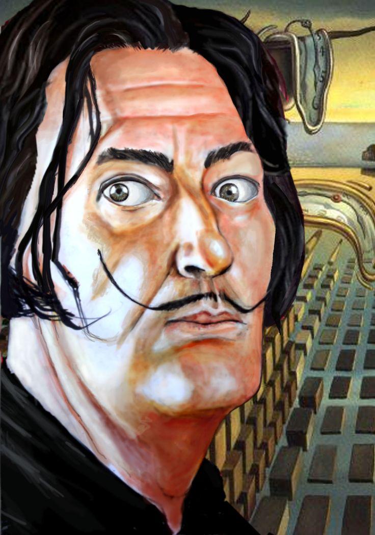 Personaje del mes de Mayo para Show de Caricaturas: Salvador Dalí.