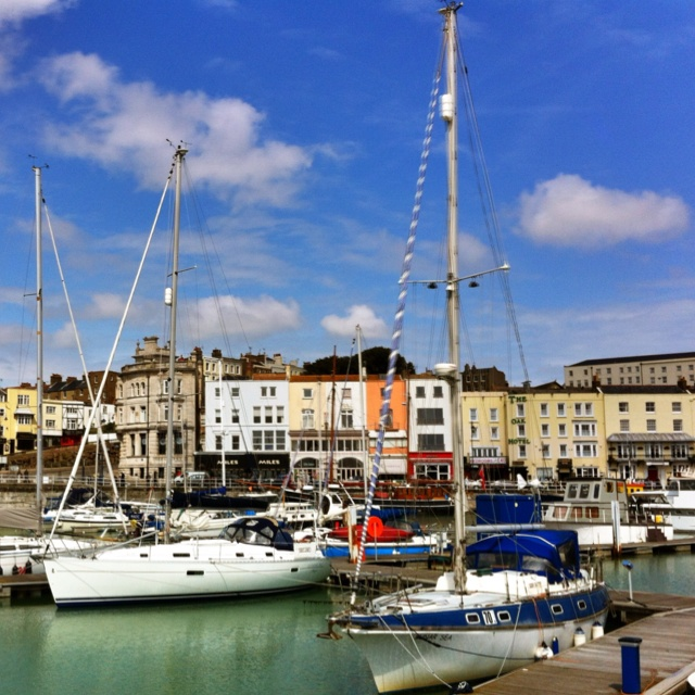 Ramsgate Harbour. Plenty to see, great places to eat too.