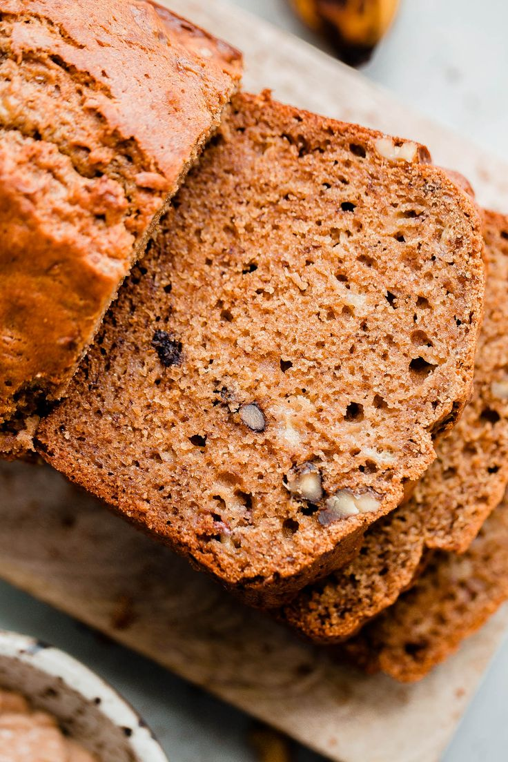 Best 25 banana walnut bread ideas on pinterest banana bread banana walnut bread a healthy banana bread made with whole grains unrefined sugar forumfinder Choice Image