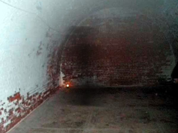Shadow person at Fort Mifflin. Taken 3/3/10 by David Richards. Fort Mifflin is extraordinarily haunted.