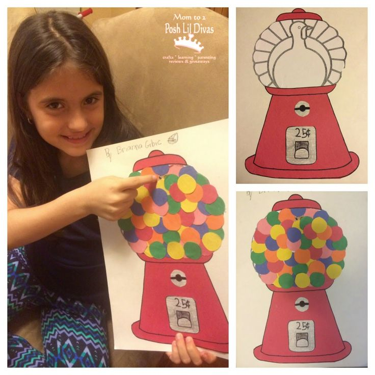 Mom to 2 Posh Lil Divas: Easy and Fun Turkey in Disguise Projects