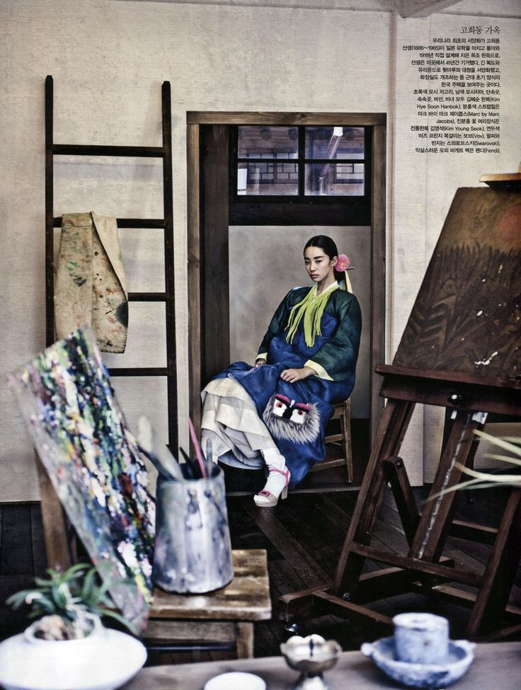 Vogue Korea August 2013