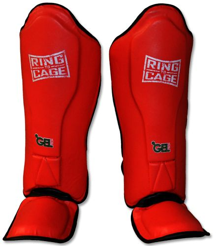 NJ FIGHT SHOP - Ring to Cage Red Platinum GelTech MMA Muay Thai Shin Guard, $64.95 (http://www.njfightshop.com/ring-to-cage-red-platinum-geltech-mma-muay-thai-shin-guard/)