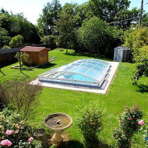 Les 58 meilleures images du tableau abri de piscine bas for Prix abri de piscine 8 par 4