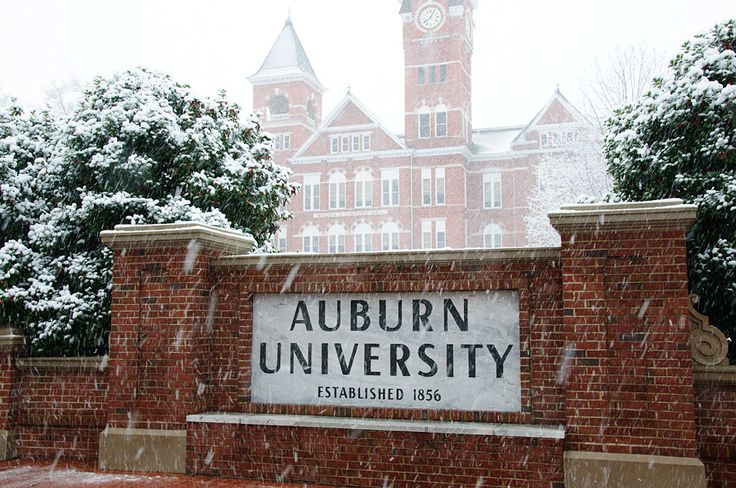 Samford Hall in the snow #Auburn University   For Great Sports Stories, Funny Audio Podcasts, and Football Rules Tutorial www.RollTideWarEagle.com