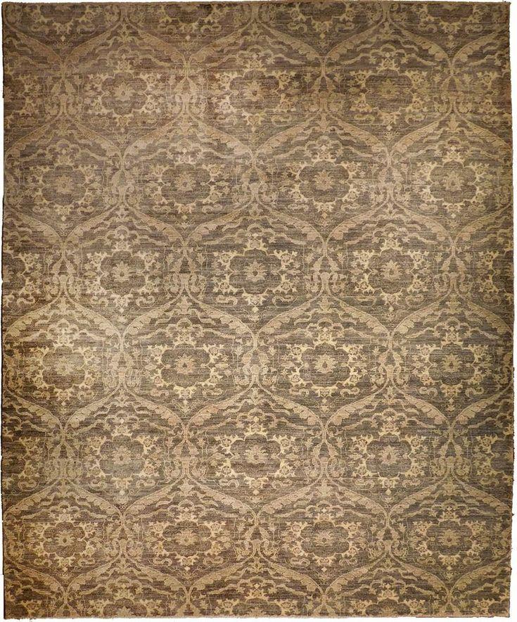 "Hand knotted  Afghan rug. 8'8""x 12' #NasserLuxuryRugs #TraditionalPersianOriental"