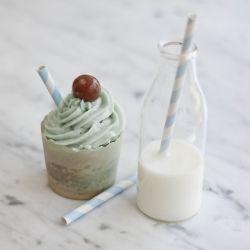 Blue Heaven Cupcakes ~ a tribute to the classic milkshake