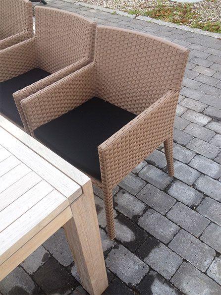 #Garden #furniture #lifeform.dk #havemøbler i flet #teak #summer #sommer