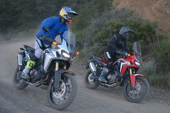 Which one would you prefer in your Africa Twin? The old standby manual transmission or the new-tech Dual Clutch Transmission? Here's what we found.