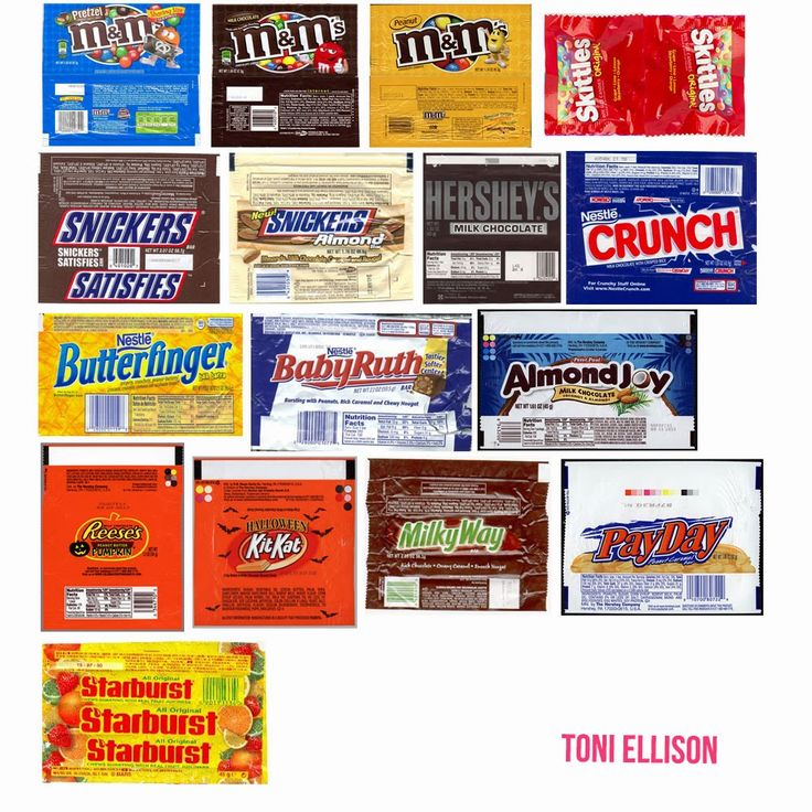 131 best Miniature candy images on Pinterest Dollhouses - candy bar wrapper template