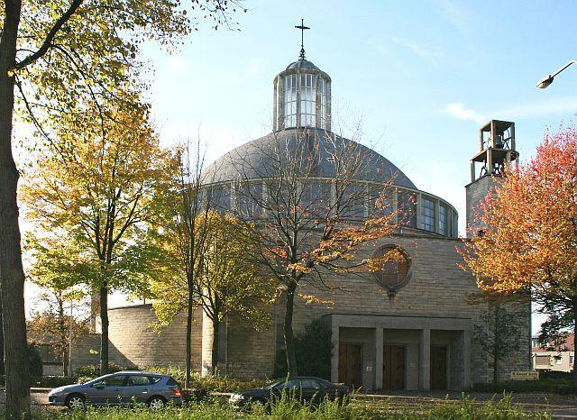 Frits Peutz, Heilige Geestkerk, Roermond 1956-1957