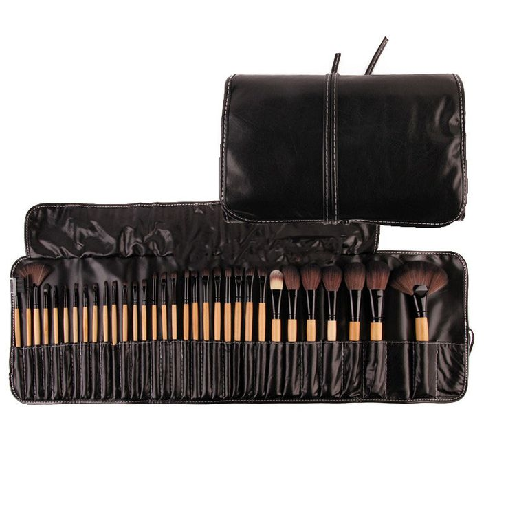 Price14$   Stock Clearance !!! 32Pcs Print Logo Makeup Brushes Professional Cosmetic Make Up Brush Set The Best Quality!