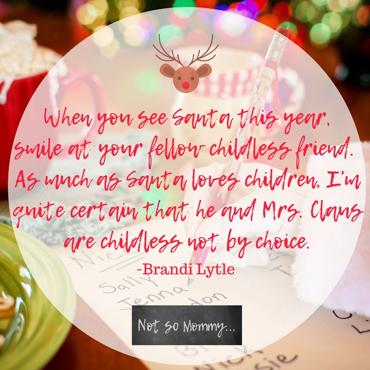 Smile at your fellow childless friend. | Read about my childless life at Not So Mommy... | Childless not by choice | Childless Perspective | Childless Woman | Childless Quotes | Childless Articles | Childless Couples | Childless Couple | Childless Thoughts | Childless Families | Childless Relationships | Childless Holidays | Childless Holiday | Childless Christmas | Overcoming Infertility | Infertility Blog | Infertility Articles | Infertility Stories