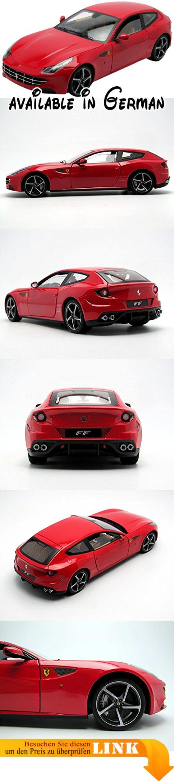 Mattel-Elite Ferrari FF 1:18. 1/18 scale #Toy #TOYS_AND_GAMES