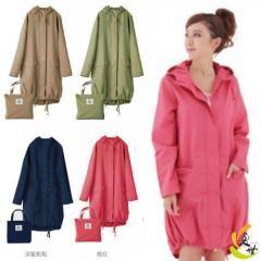 [ 67% OFF ] Fashion Raincoat Women Adult Long Breathable Portable Windproof Waterproof Travel Rain Poncho Coat Chubasquero Rainwear Yy207