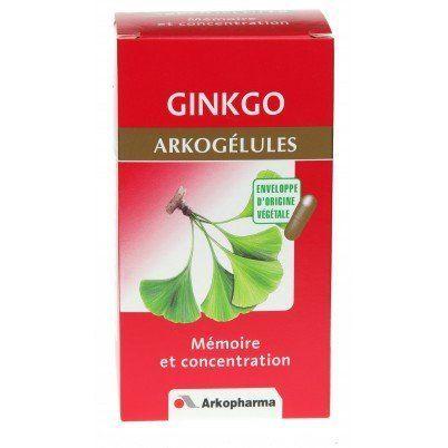 ARKOPHARMA – Arkogélules Ginkgo: Le ginkgo est le dernier représentant de la plus vieille espèce d'arbre au monde (plus de 200 millions…