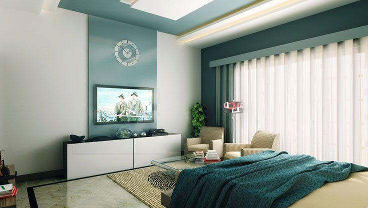 Pareti-camera-da-letto-smeraldo