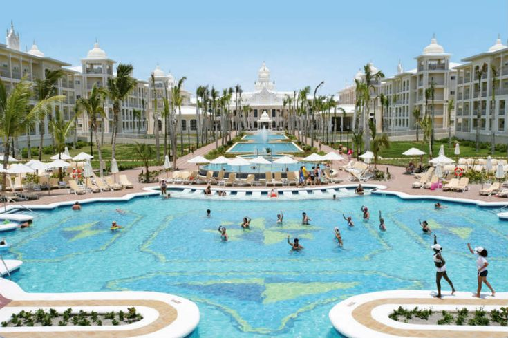 Riu Palace Punta Cana AIl-Inclusive Resorts- $1497 includes all meals, Junior Suite, activities. W/O airfare. +5 star service +1 huge pool & jacuzzi +Full spa service +Exchange program w/ 4 other RIU hotels in area +Includes windsurfing, sailing, gymnastics, kayaks, bodyboards, scuba +Many excursions avail. +6 restaurants/ 5 bars +Rooms have massage tub, AC, fan, coffeemaker, TV, safe, lounge area, balcony +Snacks 24 hours a day +Nightly entertainment -Dinner reservations req.