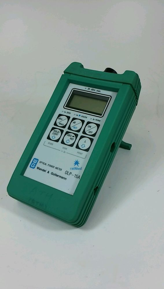 [Wandel&Goltermamn OLP-15A] Optical Power Meter (Made In Germany) #WandelGoltermamn