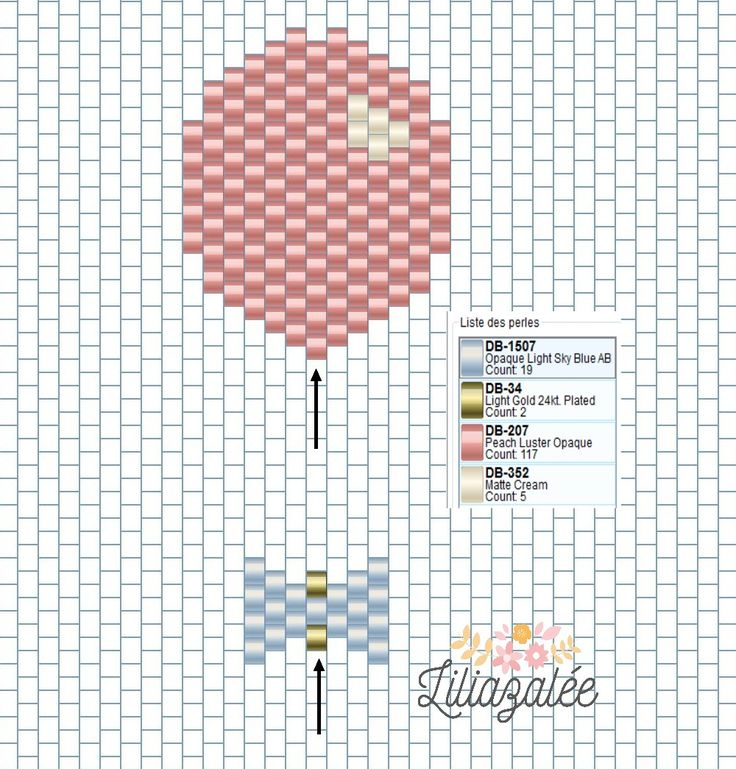 tutoriel-tissage-brick-stitch-ballon-noeud-papillon-liliazalee-diagramme