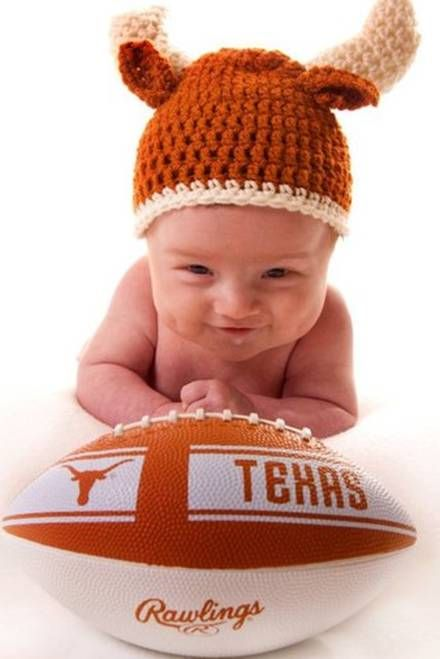 Texas Longhorns Baby - Vote for Jack to be on the cover of Parents Magazine here http://photos.parents.com/category/vote/photo/1303410