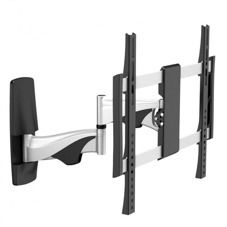 The MMT-515S-400 cantilever tilt & swivel TV wall mount is designed to hold screens between 32″-55″ and up to 30kg.  This full motion bracket can tilt, swivel and extend to help you get the perfect viewing angle for your small screen TV.