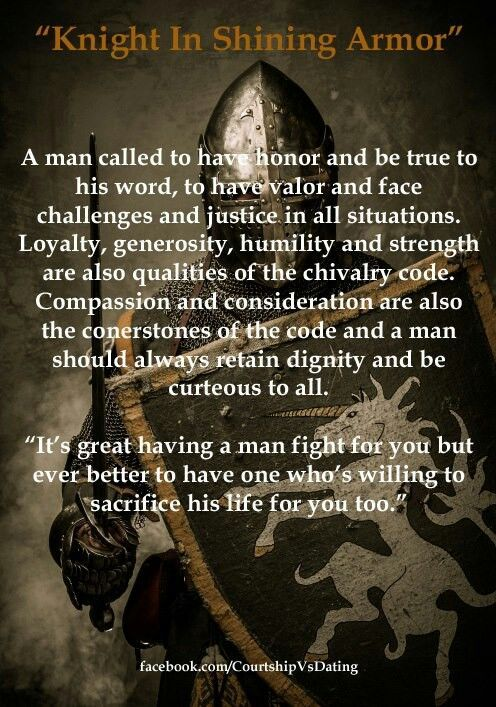 Love quote : Soulmate Quotes :  Knight In Shining Armor
