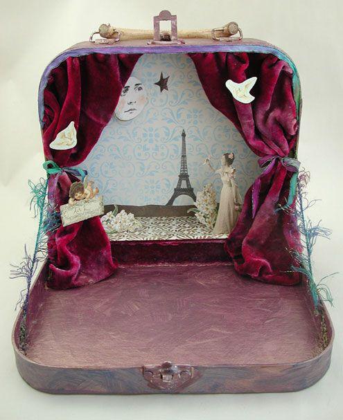 Teatro Tutorial - Joggles.com. Ideal para juguetes de Oz.