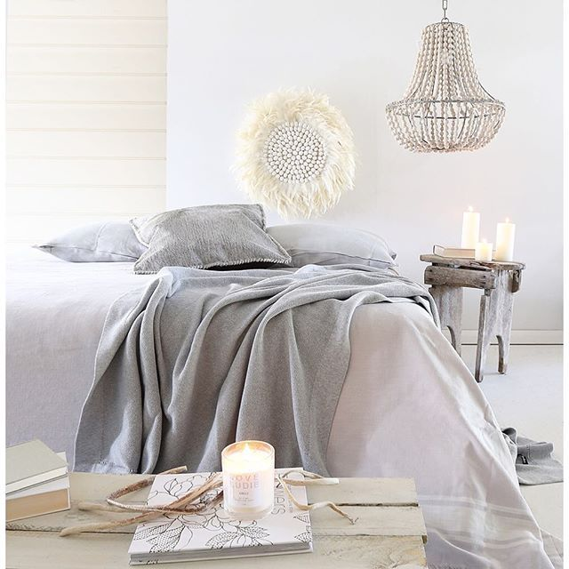 Fresh and inspiring Scandinavian bedroom style. theguideonline.com.au