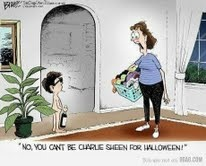 Charley Sheen Halloween humour!