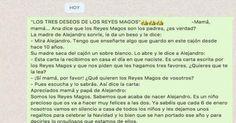 El emotivo mensaje de una madre a su hijo sobre la veracidad de los Reyes Magos que arrasa en WhatsApp
