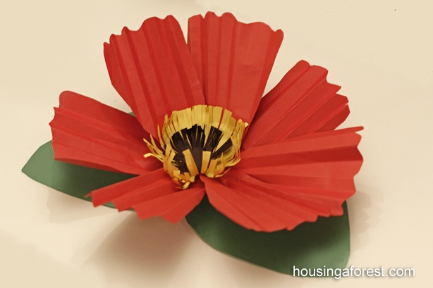 Giant 3-D Poppies