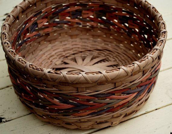 Round Arrow Weave Handmade Basket