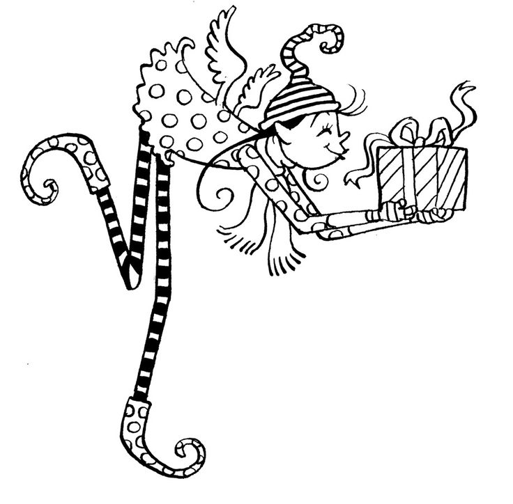 Coloring Pages Christmas Print