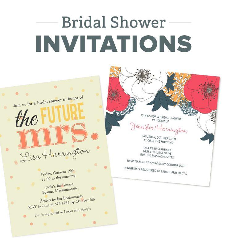 43 best bridal shower invitations images on pinterest for Bridal shower email invitations