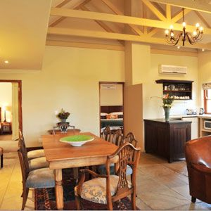 Luxury Two Bedroom Suite at the Kleine Zalze lodge.